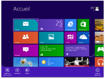 installer Windows 8 sur Mac bienvenue sous Windows 8