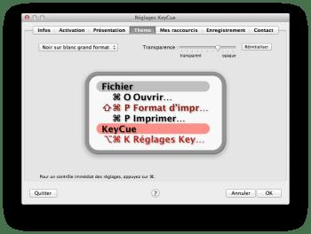 KeyCue mac