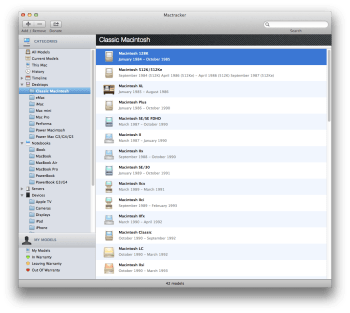 Mac Classic configuration
