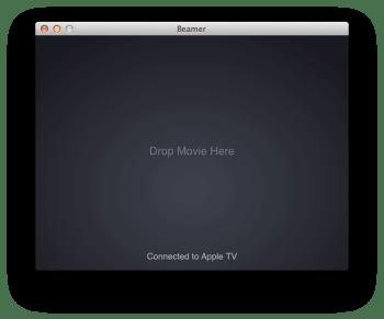 Beamer - airplay apple tv3
