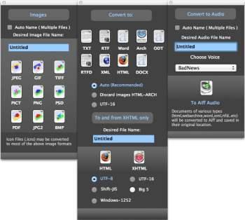 AlienConverter convertir images sur mac