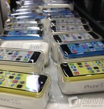 iPhone 5C en coffret couleurs