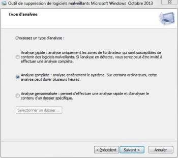 test Microsoft Malicious Software Removal Tool
