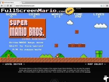 Super Mario en HTML5