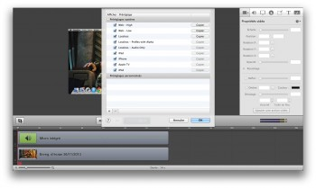 exporter capture ecran video