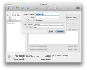 sauvegarder partition recovery mac