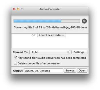 free audio converter mavericks