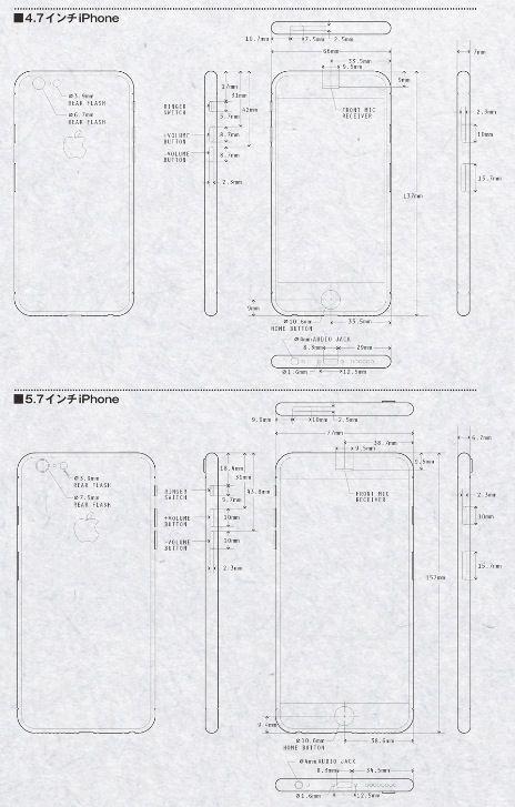 iPhone 6 : photos en 3D grâce à la fuite de schémas techniques