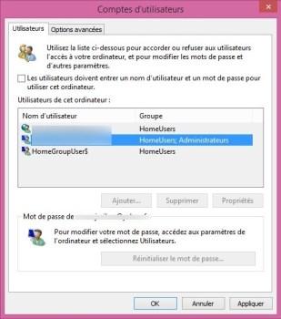 windows 8 sans mot de passe