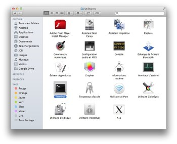 lancer terminal mac