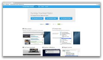 download station chrome safari opera