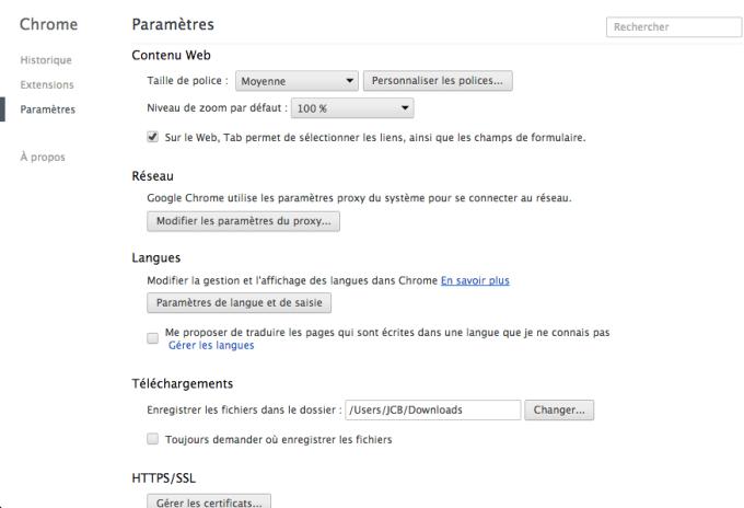 IP tracking Chrome