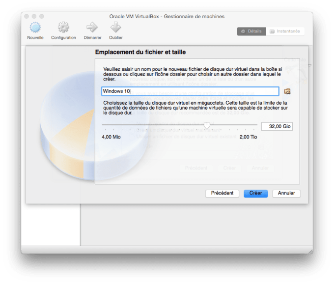installer windows 10 sur mac emplancement fichier