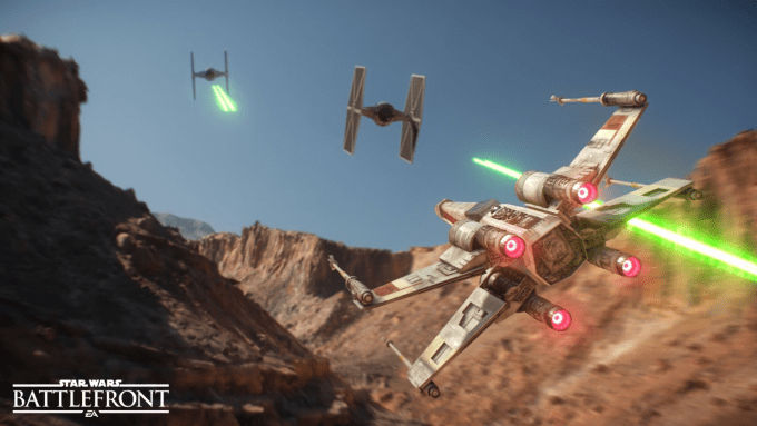 Star Wars Battlefront X-Wing
