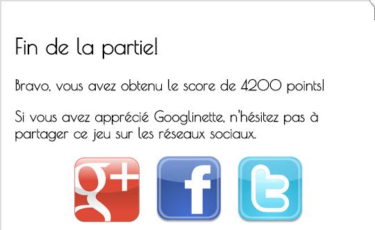 googlinette, score