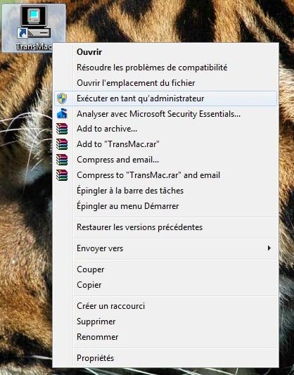 cle USB Mac OS X El Capitan depuis Windows transmac administrateur
