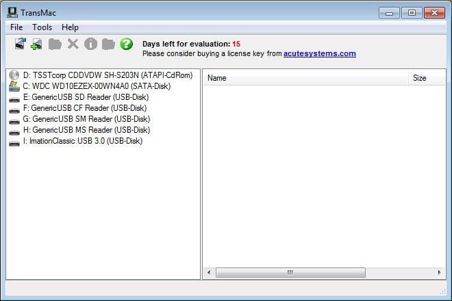cle USB Mac OS X El Capitan depuis Windows transmac logiciel