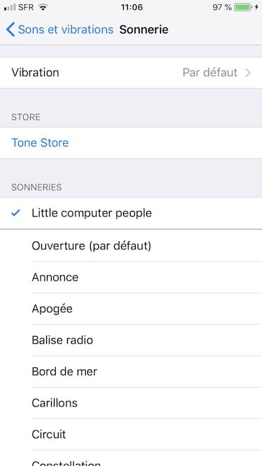 Creer une sonnerie iPhone changer sonnerie iphone