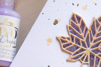 Stained 'Glass' Maple Leaf