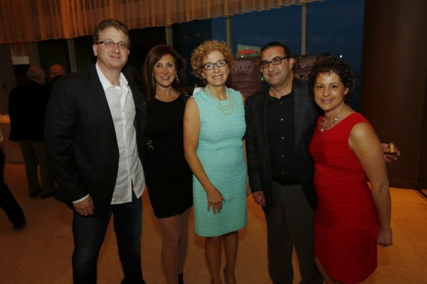 Cookie Till with Katz JCC Board Members Helene & Robert Hordes and Event Chairman Marc & Elyse Neumann