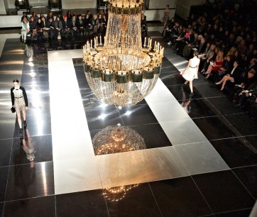 Jason Wu. Photograph taken by BureauBetak, event designers and producers. NY Fashion Week Fall 13.