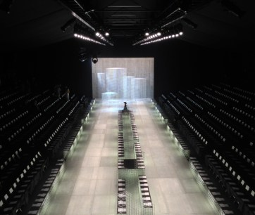 Lacoste NY Fashion Week SS14. Designed and Produced by BureauBetak. Built by JCDP