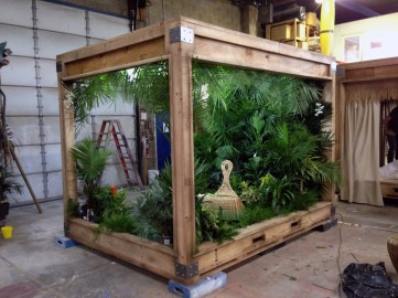 JCDP built these crates to capture the feel of summer. Produced by NACollective.