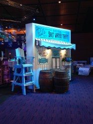 Scenery for Ameriprise Financial Trade Show. produced by AgencyEA. Built by JCDP