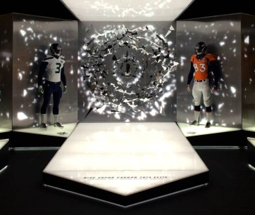 Niketown Superbowl XL. Designed and Produced by Nike and Tangram Int. Built by JCDP