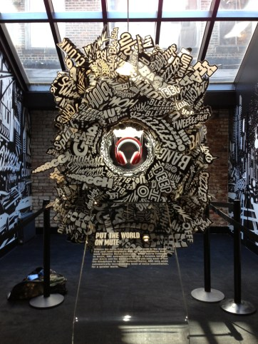 Beats Sculpture. Produced by Tangram Int. Built by JCDP