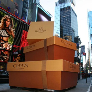 Godiva Gold Launch. Produced by Revolution Marketing. Built and Installed by JCDP