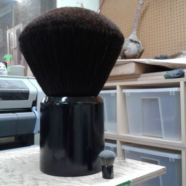 Powder Brush. Produced by RentQuest. Built by JCDP