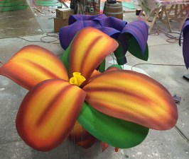 Cirque du Soleil Flower. Designed and Produced by Cirque du Soleil and built by JCDP