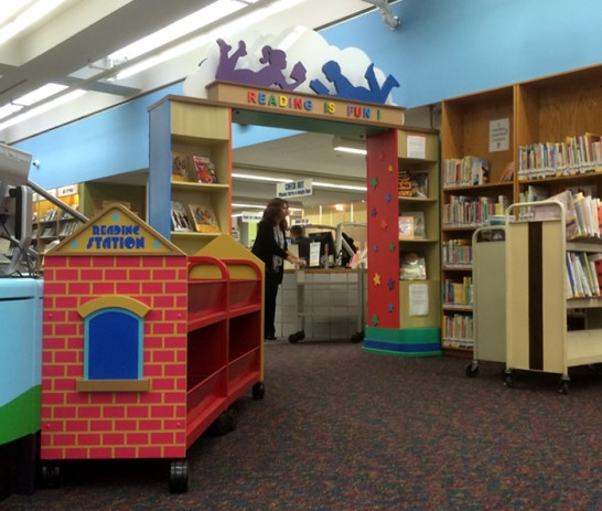 New Rochelle Library. Designed by Janice Davis Design. Built by JCDP