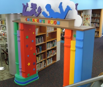 New Rochelle Library. Built by JCDP, designed by Janice Davis Design