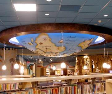 White Plains Library. Built by JCDP. Designed by Janice Davis Design