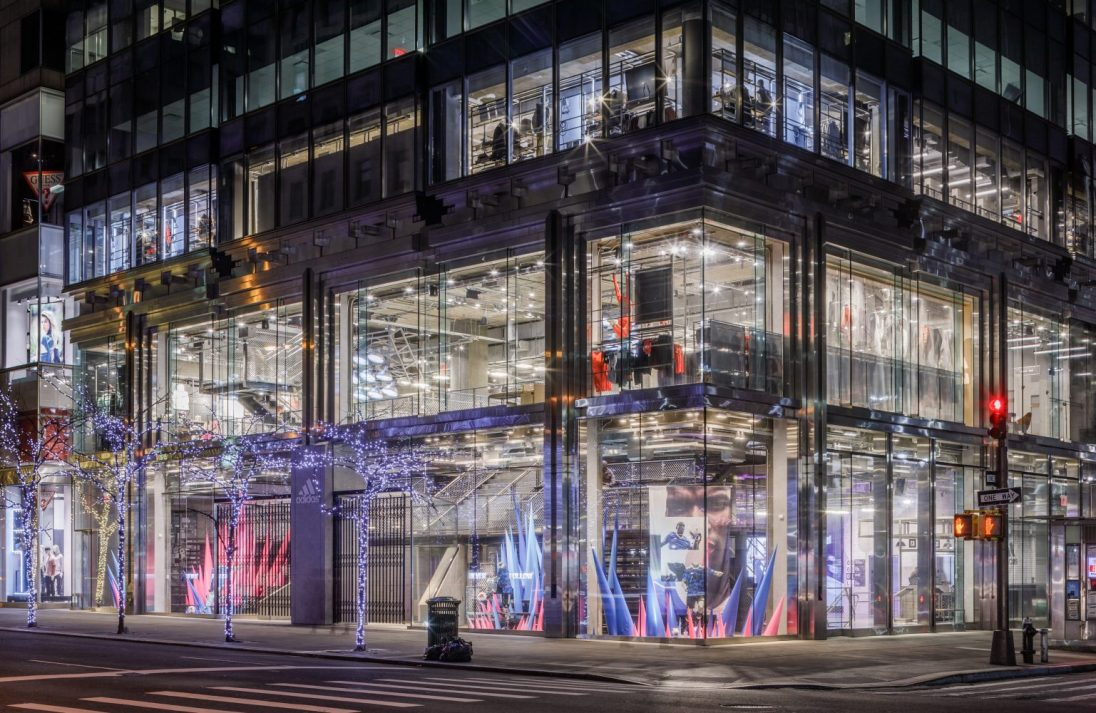 Adidas 5th Ave flagship store - Spring Soccer.