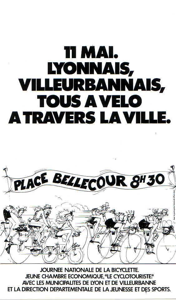 Tous à Vélo – 1981   Backstage