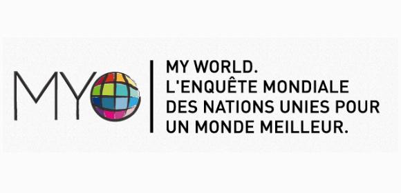 My World 2015 : enquete ONU pour un monde meilleur