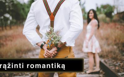 Kaip grąžinti romantiką į santykius?