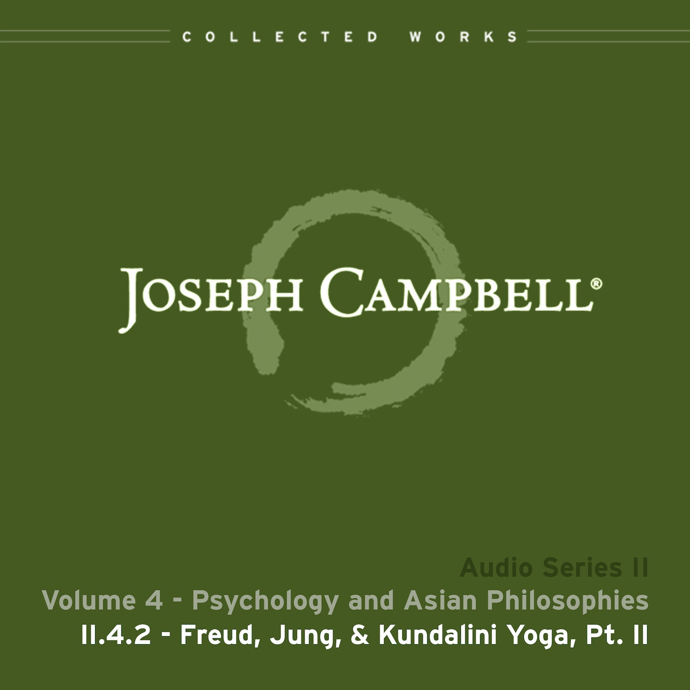 Audio: Lecture II.4.2 - Freud Jung & Kundalini Yoga Part 2
