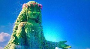 The Goddess Te Fiti (<em>Moana</em>, copyright © Disney, 2016)
