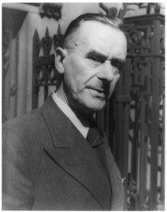 Author Thomas Mann, circa 1937 (Photo by Carl Van Vechten. Courtesy of Library of Congress.)