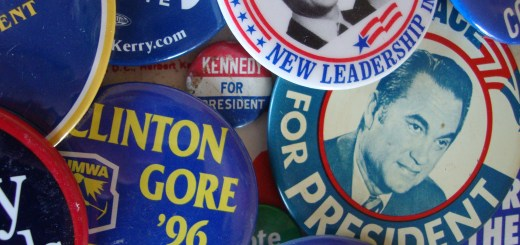 Campaign buttons, by Russ Walker. 2010. Used under Creative Commons.