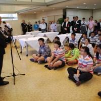 7/14 北京市青少年キャラバン訪日歓迎会 リポート