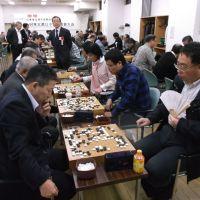 11/14 中国大使館杯 第18回東京都日中友好囲碁交流大会を開催