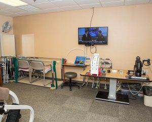 Gardenside Rehab Services Room