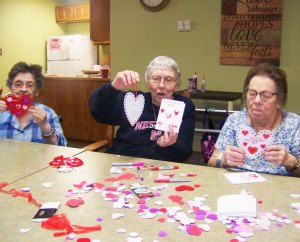 Gardenside Valentine Decorating