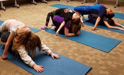 Kids Yoga Fitness Class