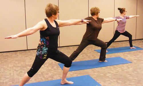 Vinyasa Yoga Fitness Class